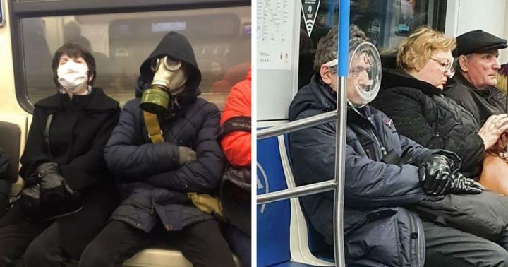 Fura metróutasok, akit még a vírus is távolról elkerül