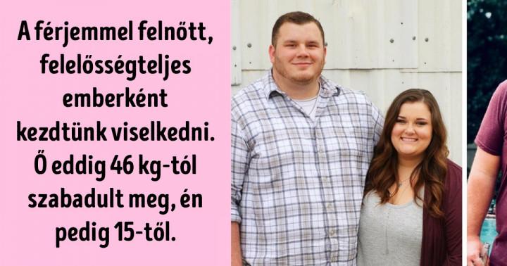 20 motiváló fénykép párokról, akik együtt döntöttek a fogyásról