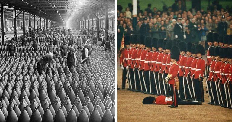 19 ritka és érdekes fotó, ami élénken illusztrálja a különféle történelmi eseményeket