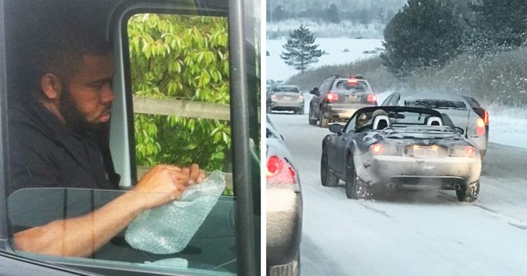 20+ alkalom, amikor a sofőrök nem akartak hinni a szemüknek vezetés közben