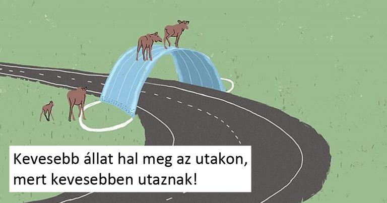 24 illusztráció napjaink társadalmi problémáiról