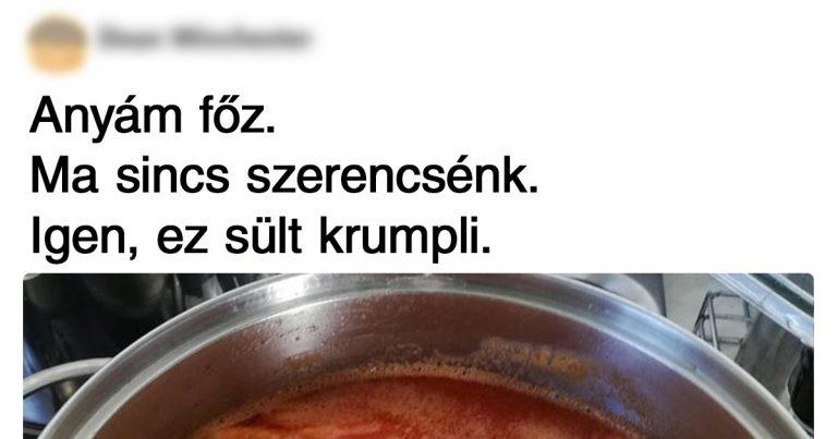18 ember, akik nagyon szeretnek főzni, csak egyáltalán nem tudnak