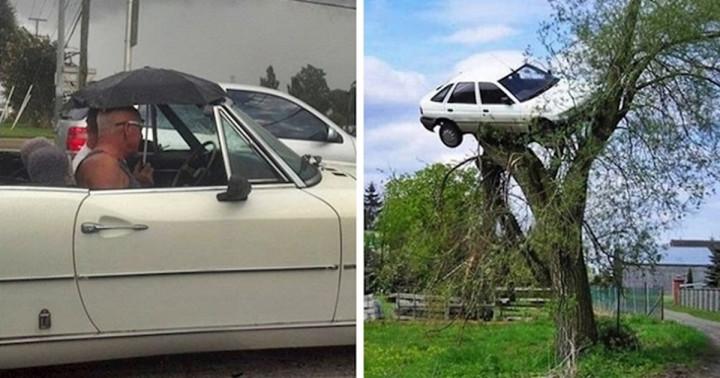 20 sofőr megosztotta a legfurcsább jeleneteket, amiket a volán mögött ülve láttak