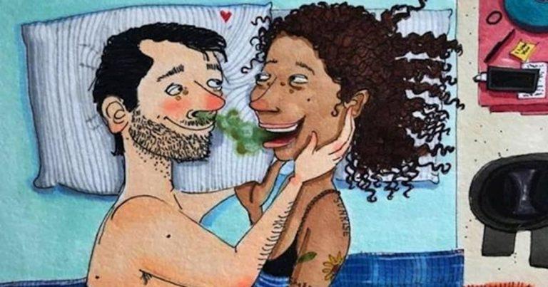 12 vicces képregény, ami bizonyítja, hogy nem mindig könnyű egy ágyban aludni a párunkkal