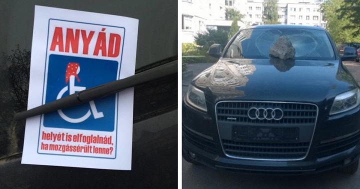 21 béna parkolás, amelyet nem tudtak szó nélkül hagyni az emberek