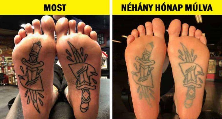 9 testrész, amelyet soha nem szabad tetováltatni. Még akkor sem, ha sok ember már megtette