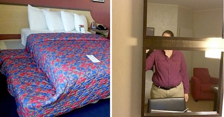 Az emberek megosztották a legrosszabb szállodákat, ahol életükben jártak, és ez elképesztő