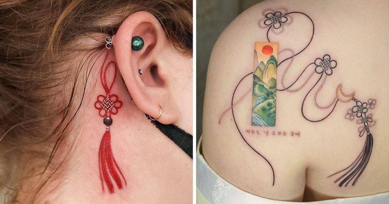 Egy koreai művész finom tetoválásokat készít, amelyek a gyengédség megtestesítői