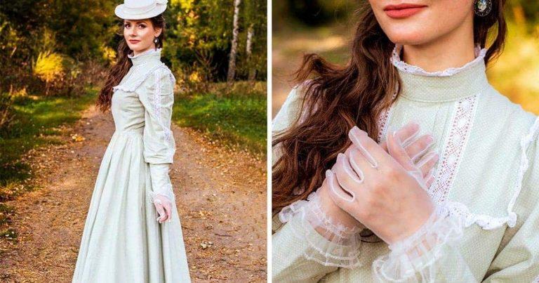 Egy nő imád úgy öltözködni, mint aki a 19. században él, és 92 ezer ember a megszállottja