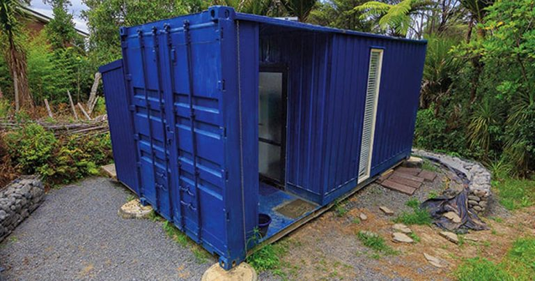 Kívülről csak egy átlagos konténer, belülről azonban teljes értékű álomotthon