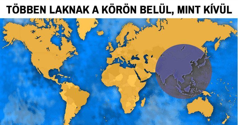 20 izgalmas térkép, amely után teljesen más szemmel nézel majd erre a világra