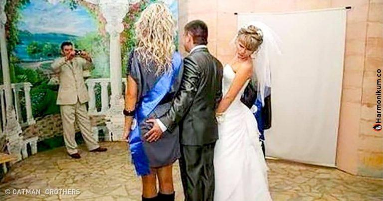 24 eset, ahol az esküvői fotós valamit váratlan dolgot kapott el