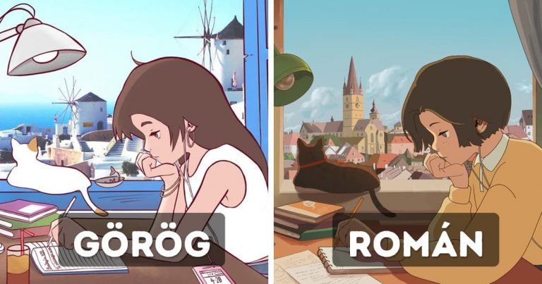 A világ művészei ugyanazt a lányt rajzolták újra, bemutatva ezzel az országok sokszínű kultúráját és életét