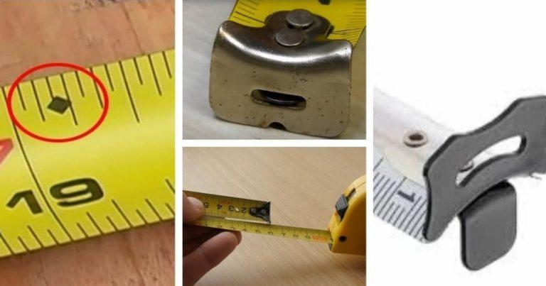 Rovátkák, számok és lyukak: 12 titok, amit nem tudtál a mérőszalagokról